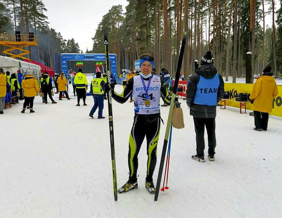 Madis Vaikmaa Tartu Maratonil
