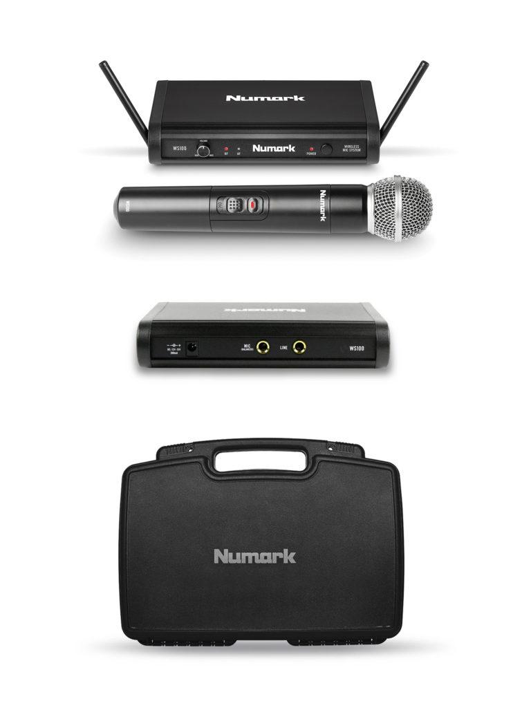 Rendiseade Juhtmevaba mikrofon ja saatja WS100